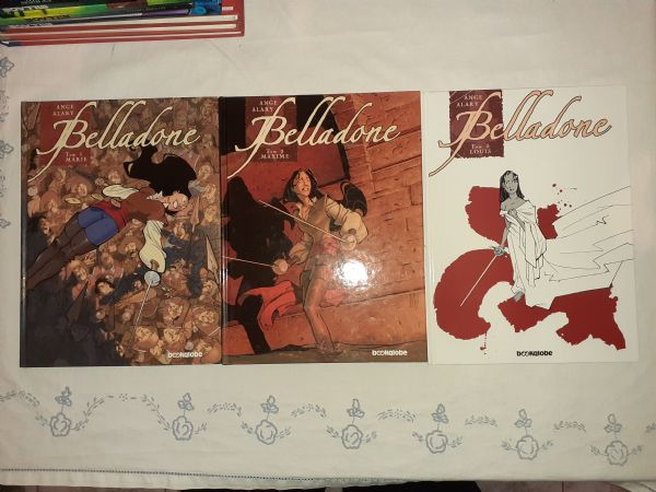 Belladone 1-3 Komplet Bookglobe